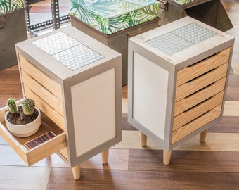 Chest of drawers bedside table