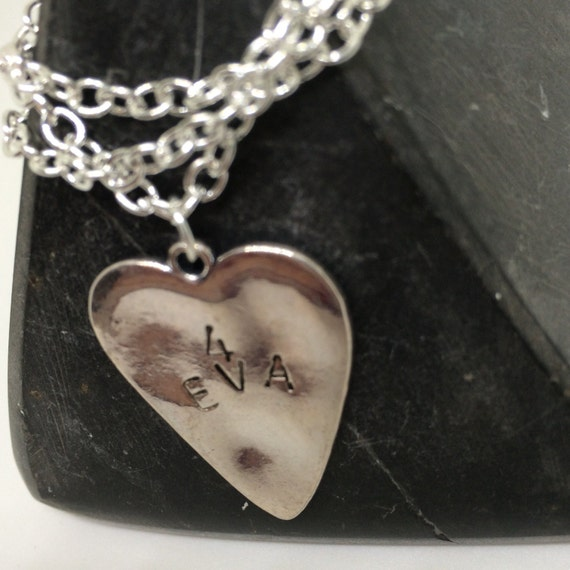 Heart Necklace, 4eva, fovever, statement piece, word jewellery, Silver Heart, Tibetan Silver, Heart Pendant, forever gift, boho Necklaces
