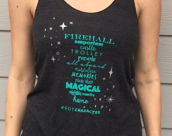 Magical Place Ladies Racerback Tank Top