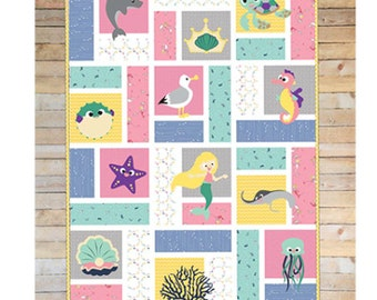 McKay Muser's Mermaid Marina Quilt Pattern