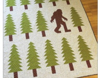 Legendary Quilt Pattern - Bigfoot Quilt!