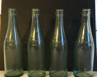 Collectible Glass, 4 Neuweiler Brewery Vintage Beer Bottles, Collectible Beer Bottles, Antique Beer Bottles, Pa Brewing
