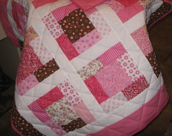 Heirloom Baby Girl Quilt