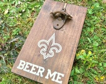 New Orleans Saints Bottle Opener / Saints Bottle opener