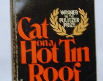Tennessee Williams Cat on a Hot Tin Roof Vintage Paperback