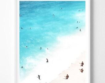 Beach Print, Beach Wall Art, Ocean Print, Bech Art, Sea print, Coast print, Coastal art, Best Selling Items, Beach landscape, Gift print