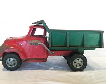 Vintage 1956 Tonka Dump Truck - Unrestored!