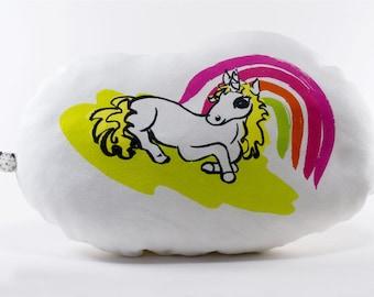 Rainbow Alice Unicorn Softie