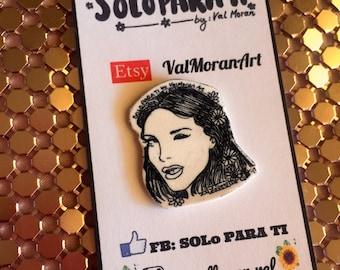 LOVE Lana Del Rey Shrink film PIN