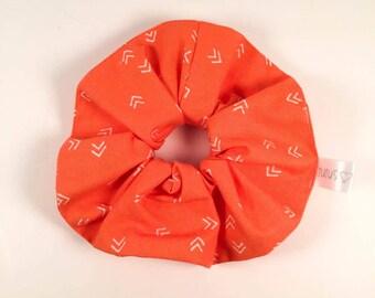 CLEARANCE-elastic '' hair band - Orange