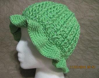 lime sun hat