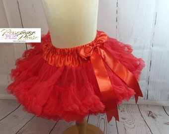 Girls red tutu, Girls pettiskirt, Girls red tutu, Girls skirt, Girls pink pettiskirt