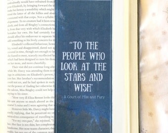 A Court of Mist and Fury Quote Bookmark