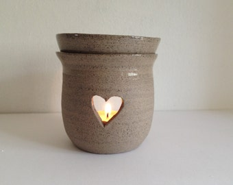 Oil diffuser, ceramic oil burner, natural air freshener, essential oil burner, home scents diffuser, romantic candle, aromatherapy diffuser