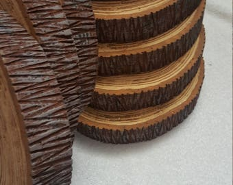 Wood Slice Wedding Cake Supplies, Woodland Wedding Rustic Cake Stand, Rustic Wedding Table Decor Wood Slices