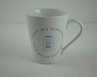 "Mug ""Hush my Mistress"""