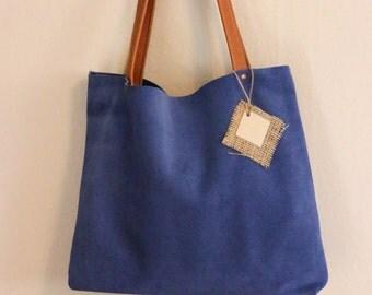 Brilliant Blue Bag