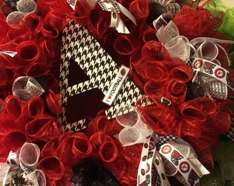Alabama Roll Tide Wreath