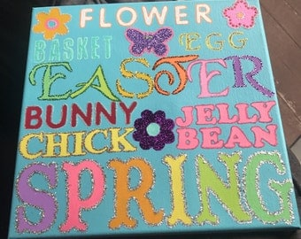 Easter Decor Word Art