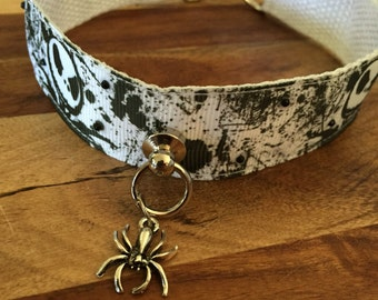 Jack skellington collar