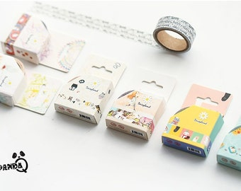 Sweet Kitty Japanese Washi Tape,Masking Tape,Planner Sticker,Kawaii,Sticker, Cat, Decoration Tape