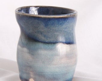 Blue Ceramic Mini-Mug
