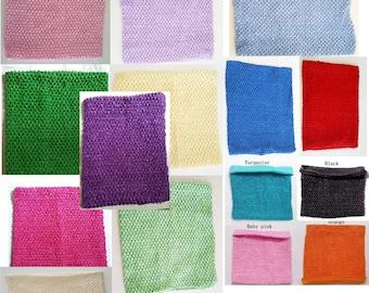 BFab 10 X 12 inch Crochet Lined Tutu Top Petti Skirt