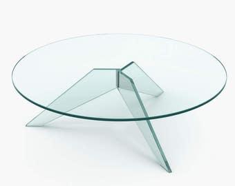 Star - Glass Coffee Table