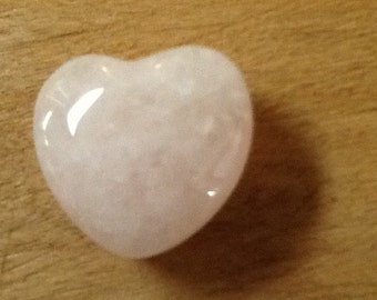 Semi-Precious Polished Heart Stone - This Stone Heart Will Rock on Forever