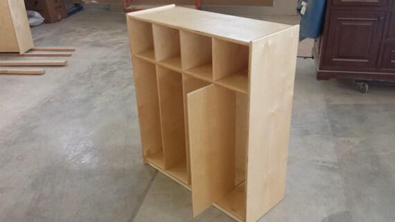 Shoe And Coat Cabinet Organizer Custom Daycare Storage