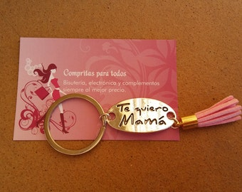 Key day of the mother, birthday... / / keyring to special occasion