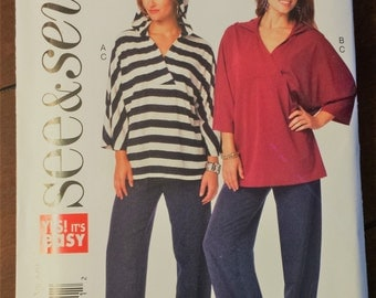 See&Sew Pattern B6271, tunic and pants