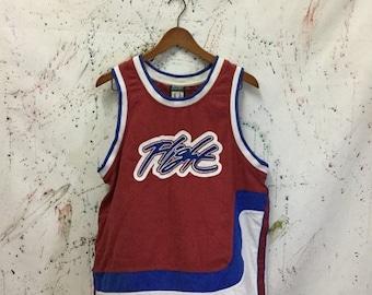SALE 25% Vintage Nike Flight Basketball Tanks Shirt 90s Hip Hop NBA