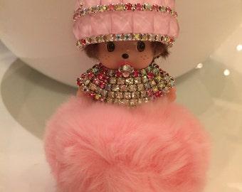 The Flamingo * Bag Charm * Key Chain * Pouf * Pom Pom * Monchichi * Crystals