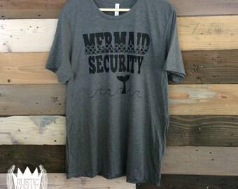 Men's Mermaid Security Shirt