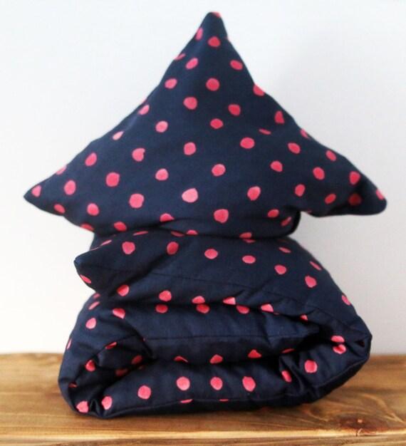 "Cherry Stone Pillow ""Sunspots"""