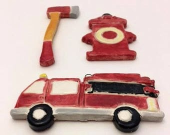 Fire Truck and Hydrant