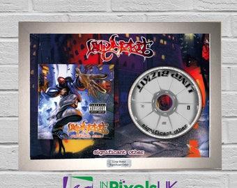 Limp Bizkit - Significant Other CD Frame Presentation Rare Custom Fred Durst Stampede of the Disco Elephants