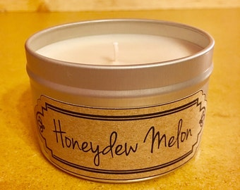 Best Soy Candle / Best Soy Candles / Honeydew Melon / Candle / Soy Candles / Candles / Housewarming Gift / Home Decor / Birthday Gift