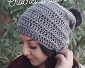 PATTERN // The Willow Beanie // Ribbed Beanie Pattern