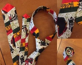 African neck ties
