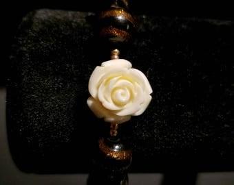White Flower Bracelet!