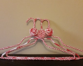 Fabric wrapped hangers