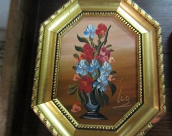 Flowers Painting Italy