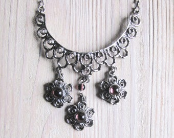 Beautiful costume necklace from Bavaria Bavaria 60th Dirndl costume