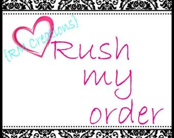 Rush order- Next day shipping