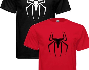 Spiderman Venom Superhero T-shirt !! free shipping