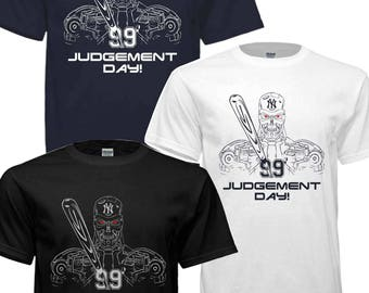 SALE!!! New york Yankees Aaron Judge Baby Bombers Terminator T-shirt3 Different colors to choose Free Shipping!!!