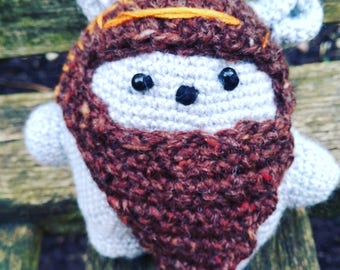 Ewok bear, crochet pattern