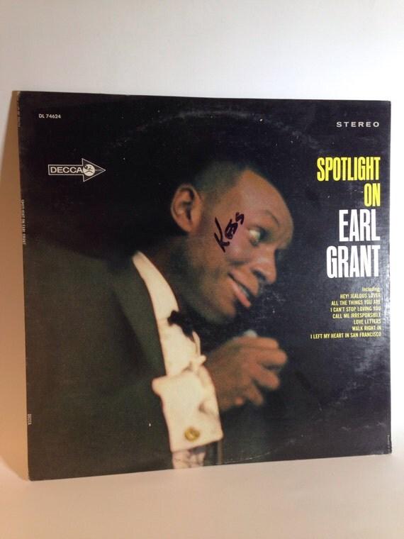 Spotlight On - EARL GRANT Vinyl Record by Decca DL 74624